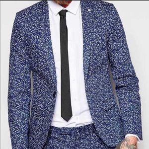 Topman Floral Men's Blazer